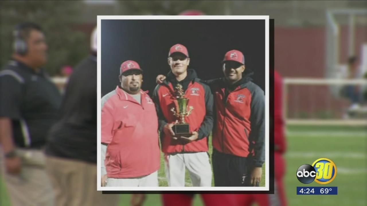 Good Sports ? Kerman Football honoring Anthony Taylor