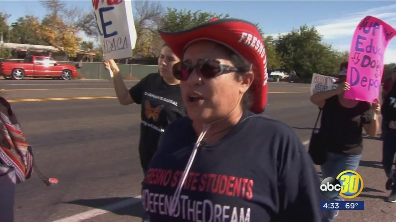 Protesters in the North Valley are taking steps towards immigration reform