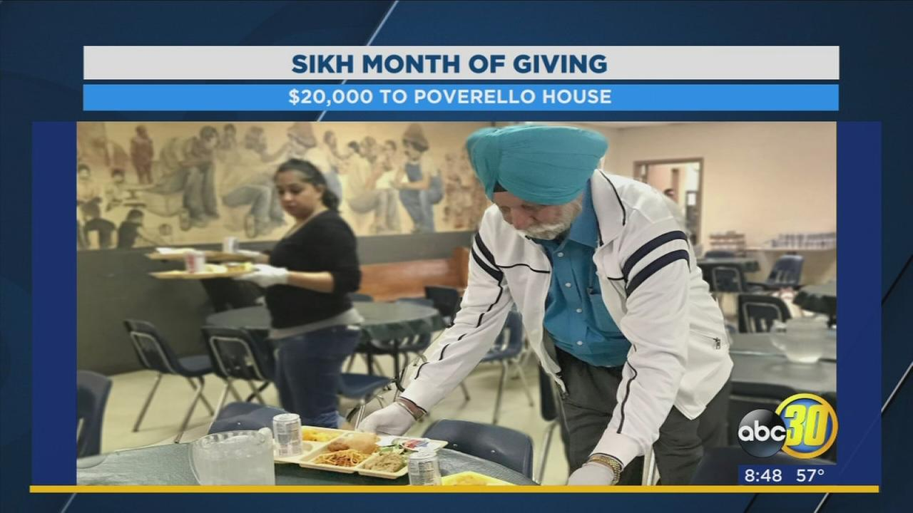 The Central Valleys Sikh community is celebrating a month of giving