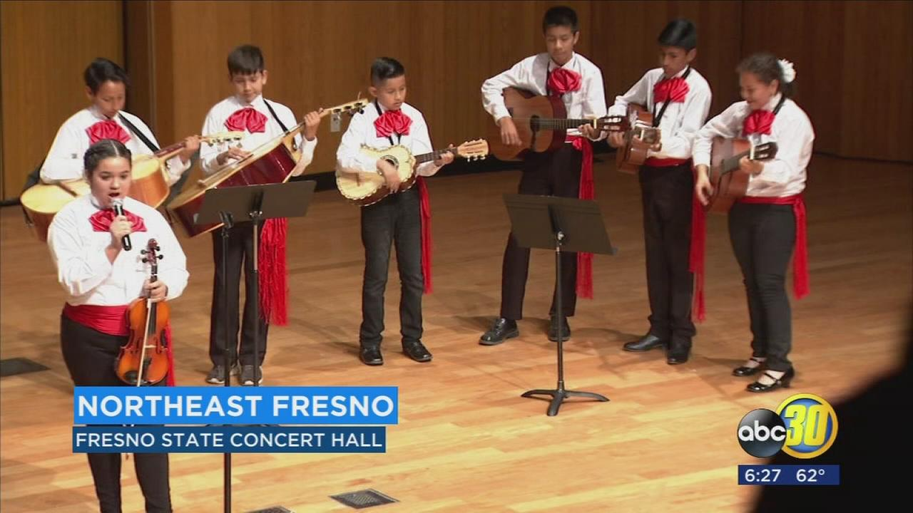 The next generation of mariachis show off their talents in Northeast Fresno
