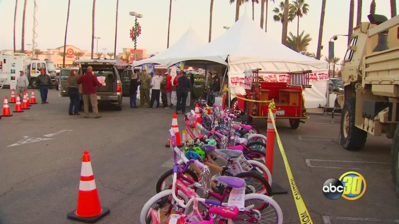 Toys for Tots Marathon Weekend Approaches