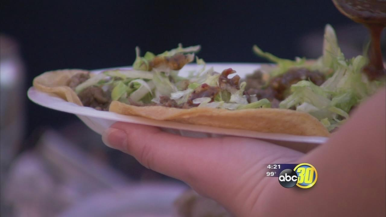 Taco Truck Throwdown attracts thousands to Chukchansi Park