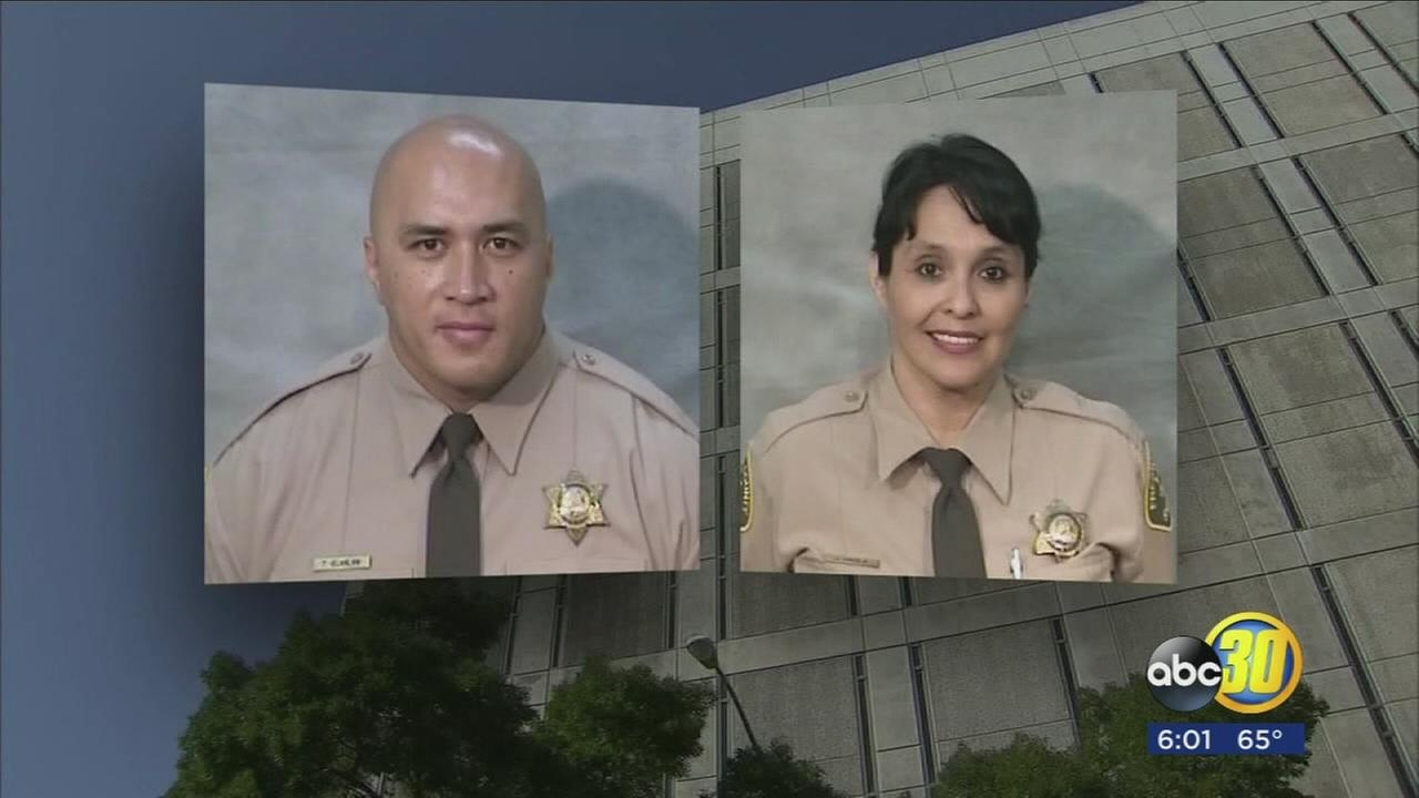 Correctional officer injured in shooting at a Fresno Jail is now suing County