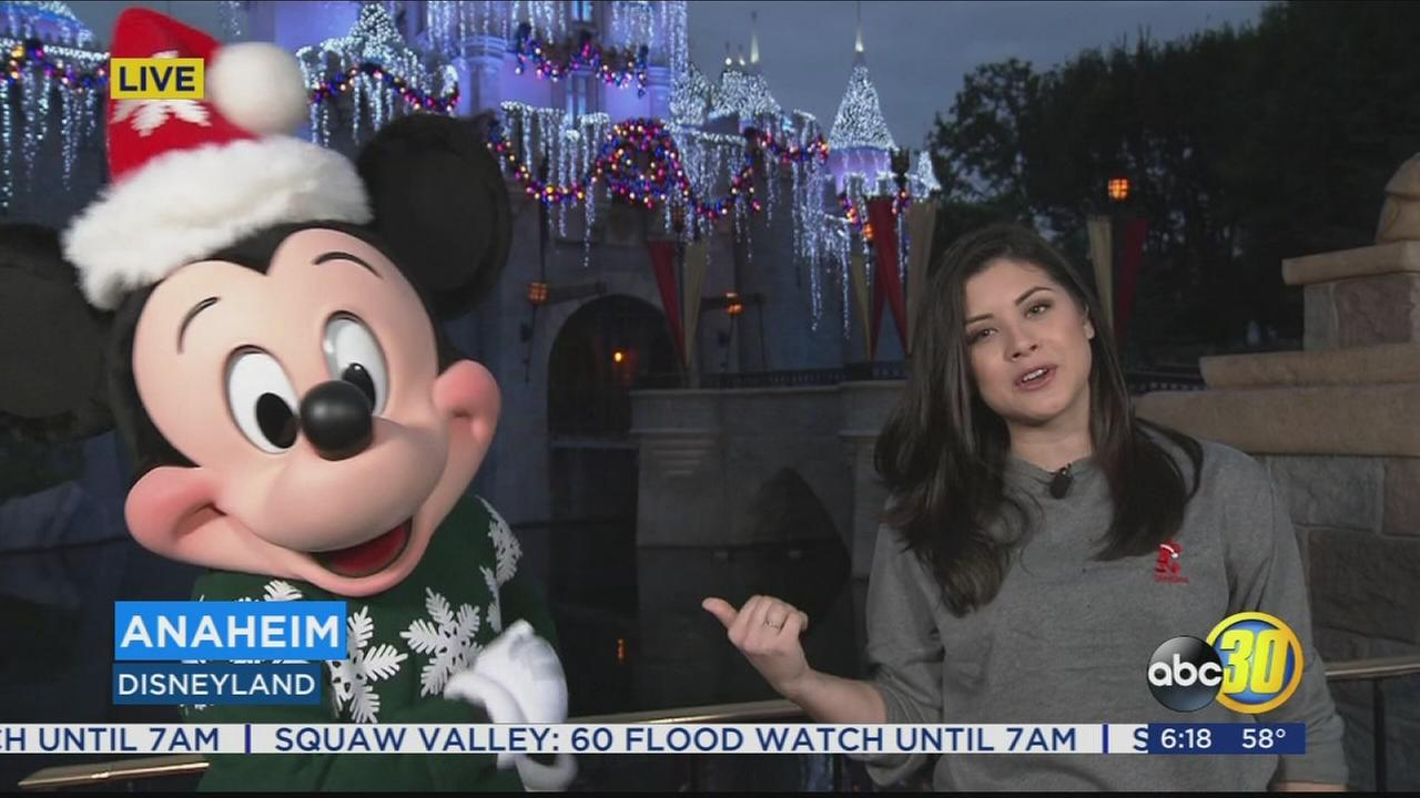 Holiday Celebration kicks off at Disneyland and California Adventure