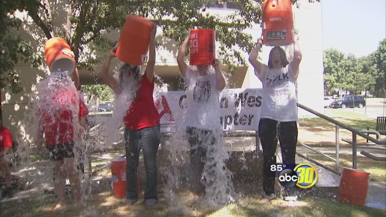 Valley ALS Association takes part in Ice Bucket Challenge