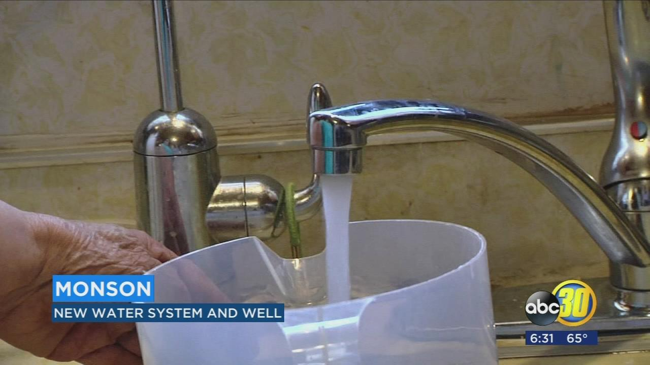 Communty of Monson celebrates new water system