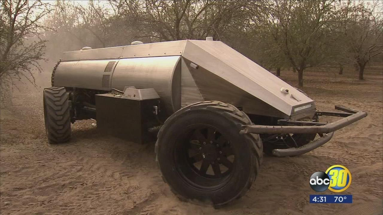 Autonomous sprayer may revolutionize the agricultural industry
