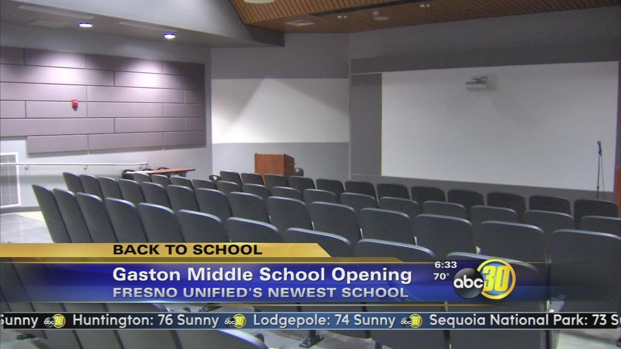 Gaston Middle School offers the latest in school design