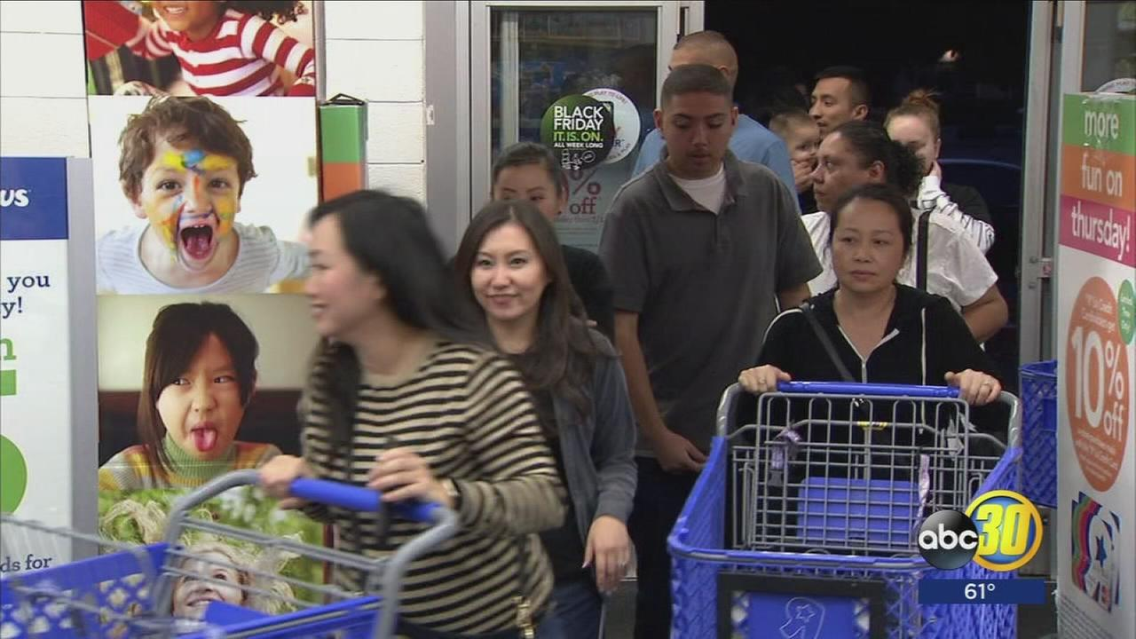 Strong opening to Black Friday as thousands leave their Thanksgiving Day dinner early to shop