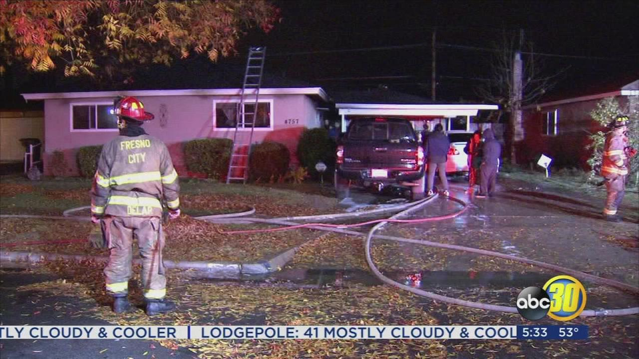 Wind may be a factor in fire that displaced Northeast Fresno family