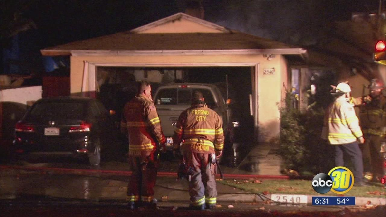 Fatal fire in the Southeast Fresno