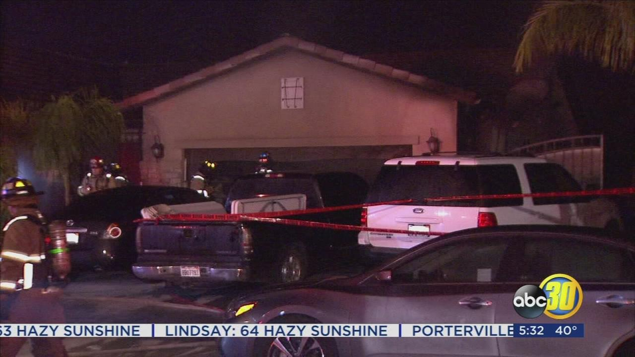 Electrical box sparks garage fire in Northwest Fresno