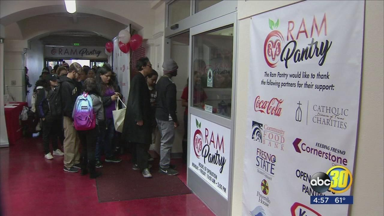 Grand opening of Fresno City Colleges Ram Pantry