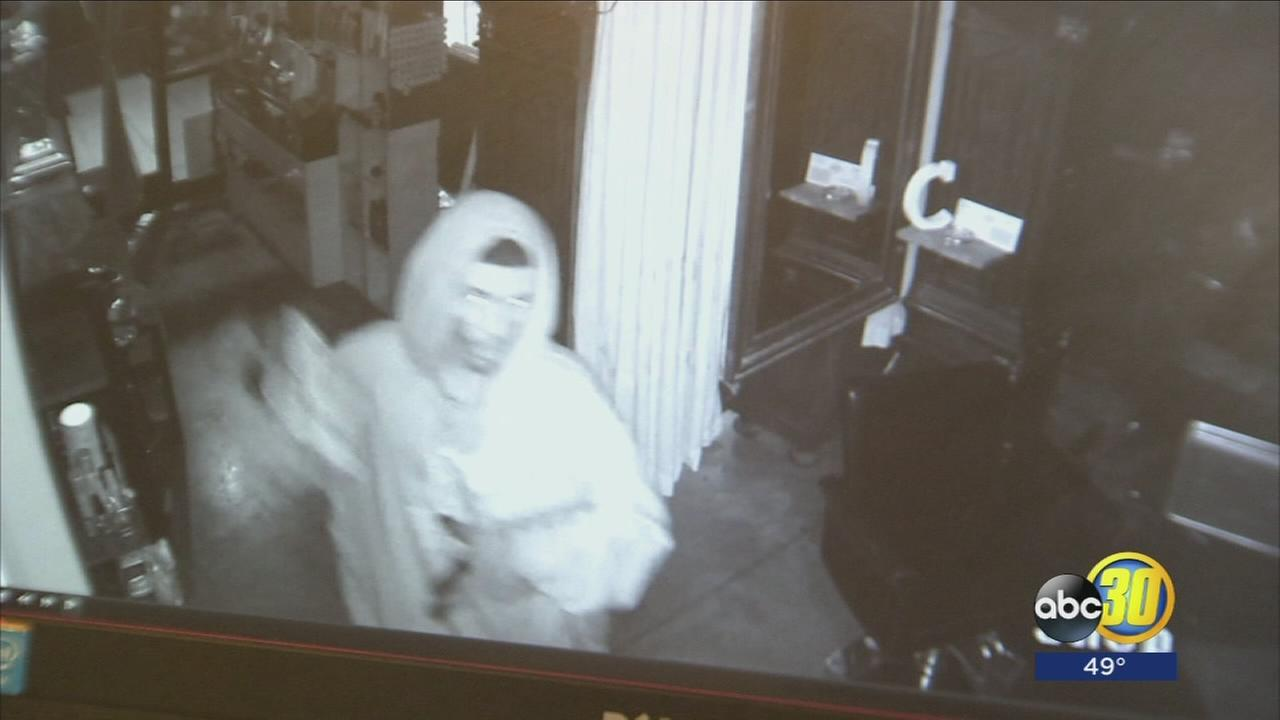 Fresno PD search for downtown burglary suspect