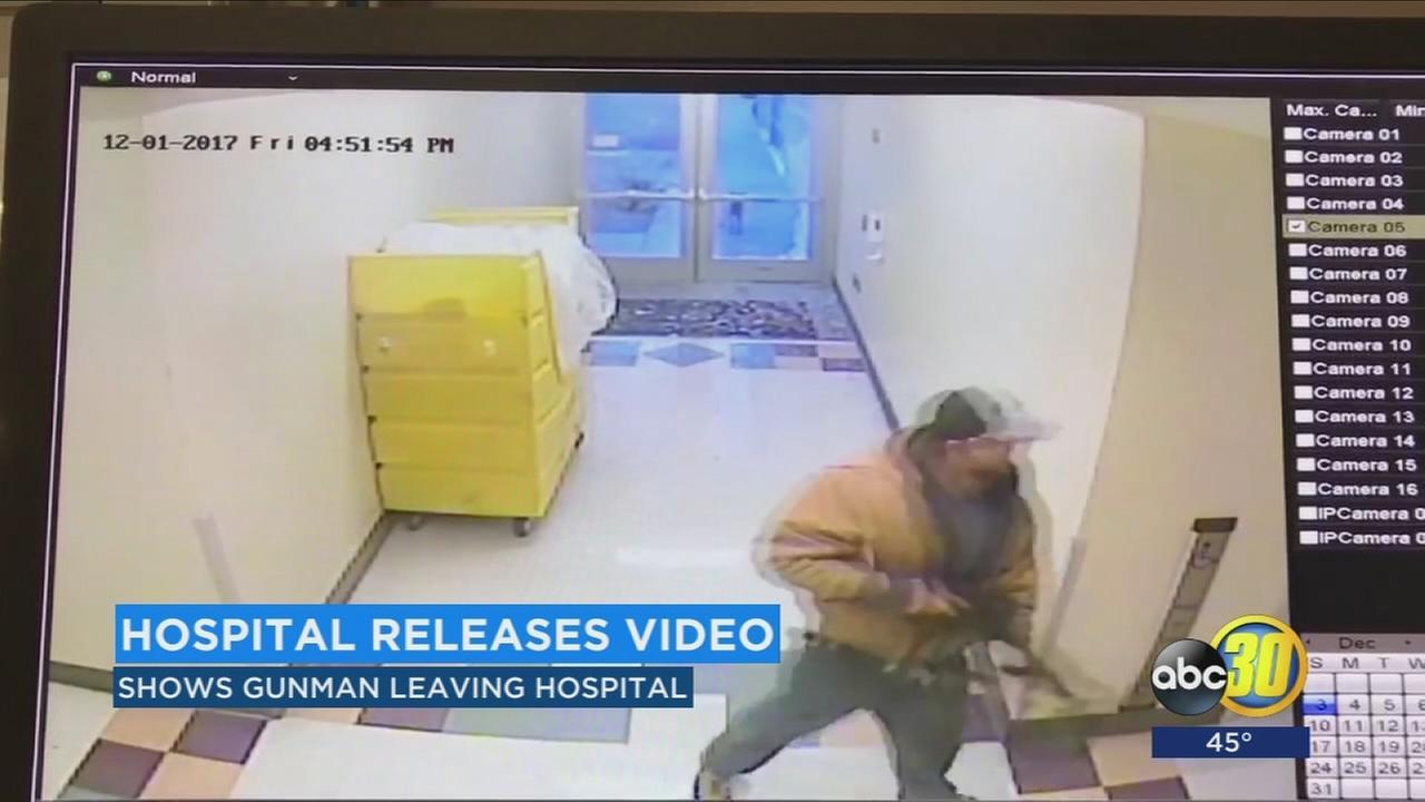 New surveillance video of Bakersfield Heart Hospital shooting