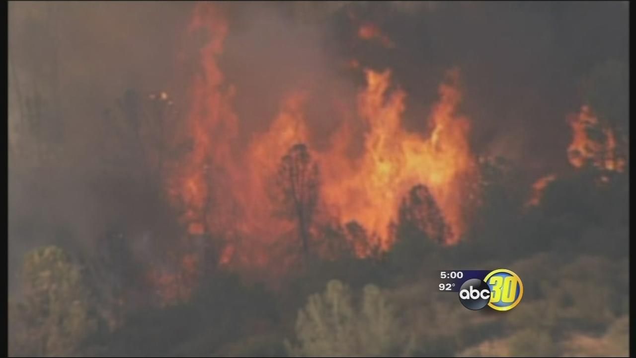 All evacuation orders lifted for Junction Fire