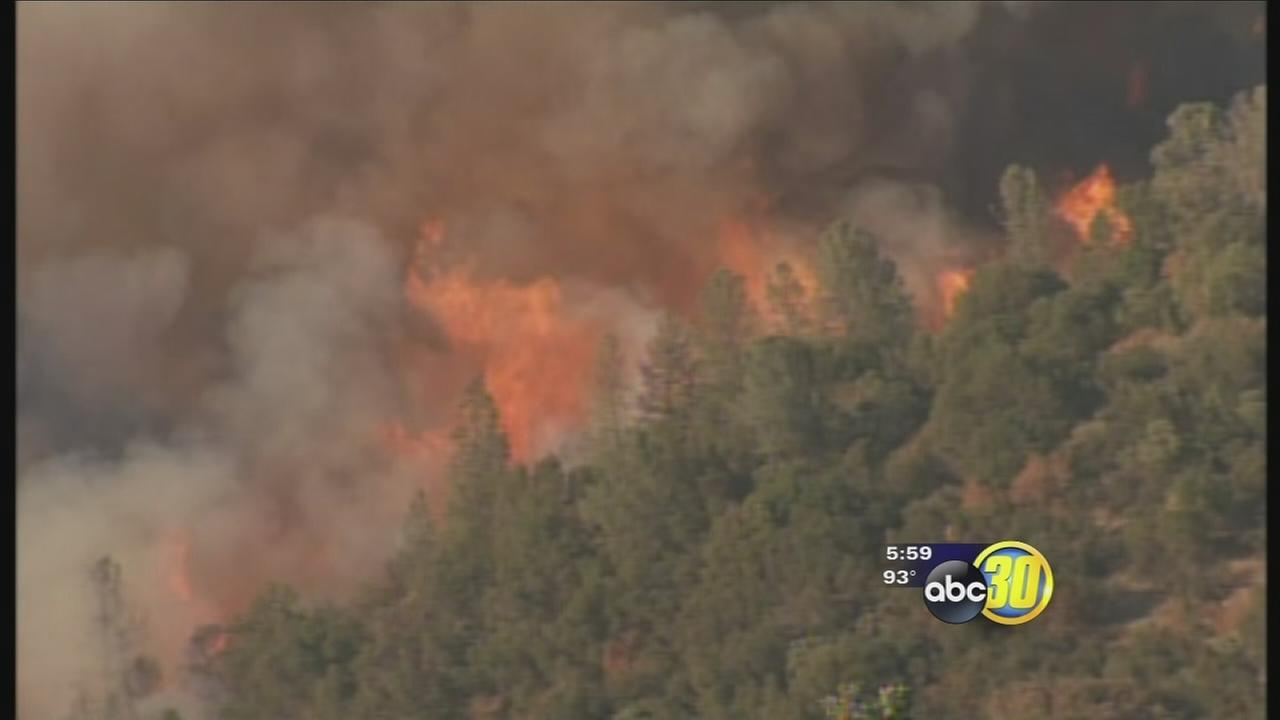 Junction Fire evacuees allowed to return home