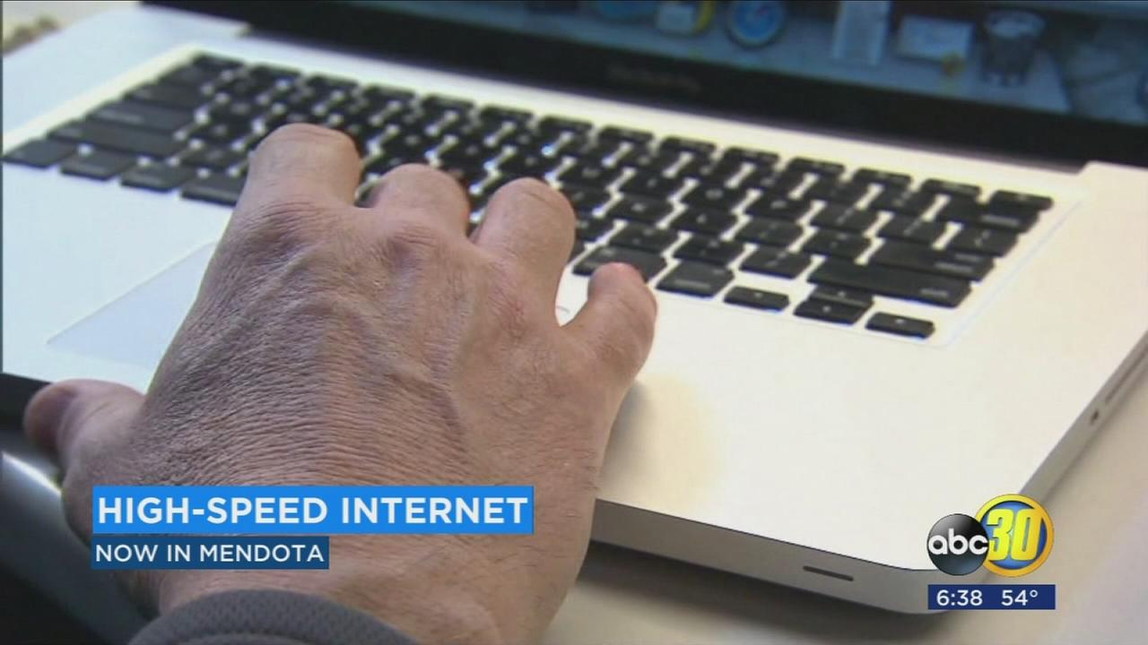 AT&T launched first ever fixed internet service in Mendota