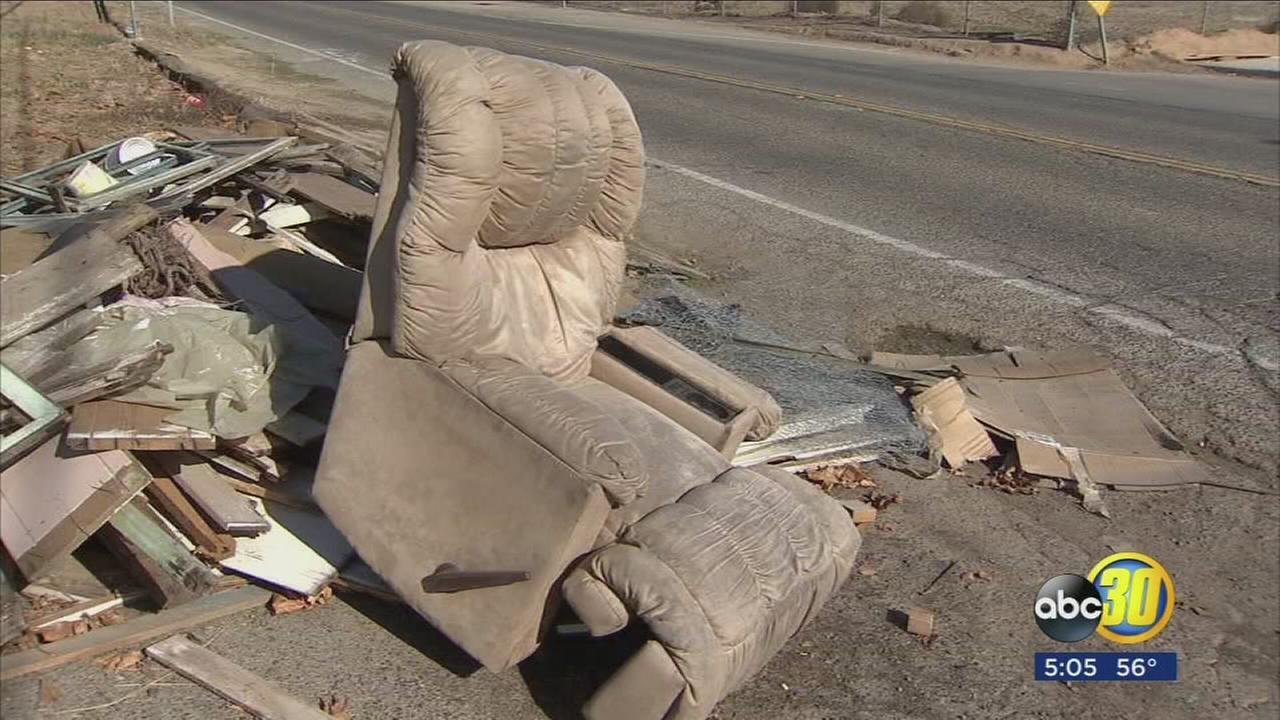 City of Fresno cracking down on illegal garbage dumping
