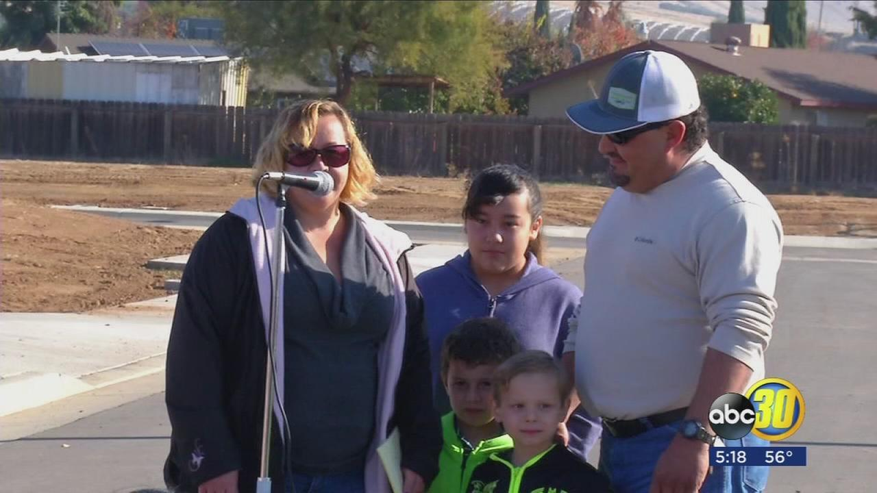 Ten Valley families to start building their own homes