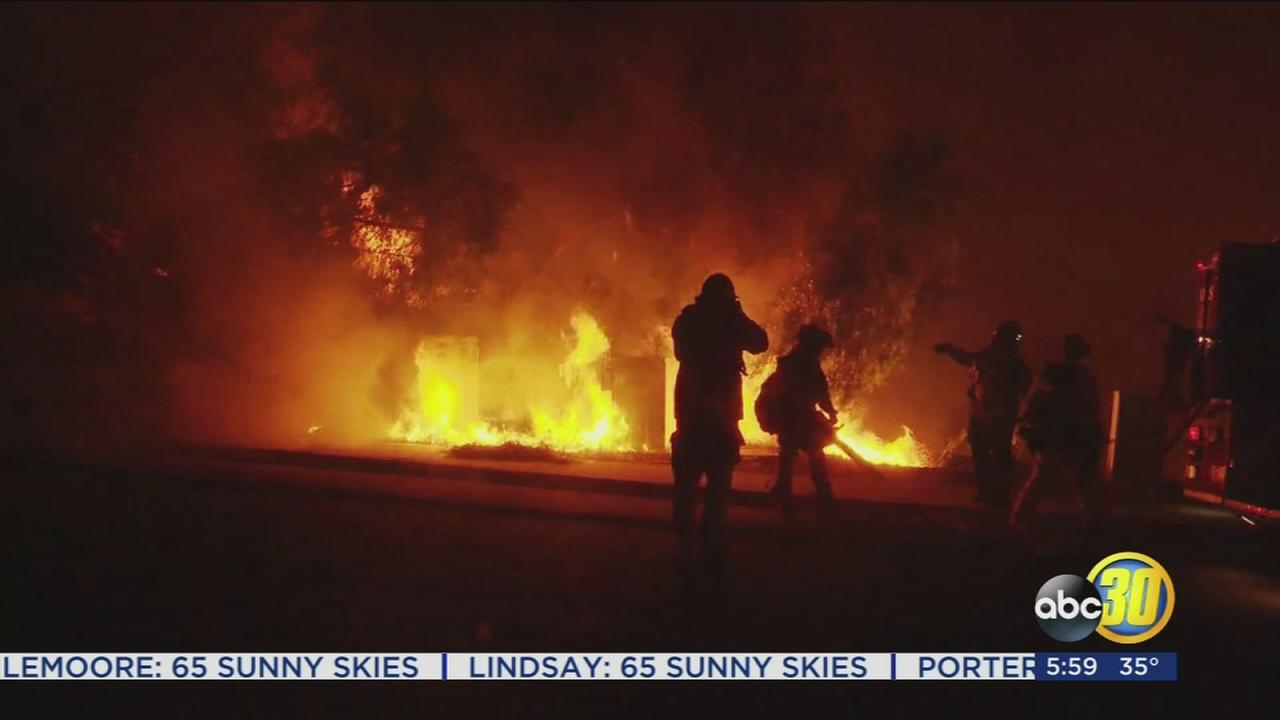 Crews in SoCal battling six wildfires, winds continue to be an issue