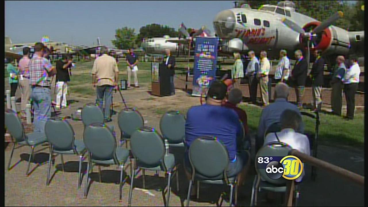 Honor Flight to take off from former Castle Air Force Base