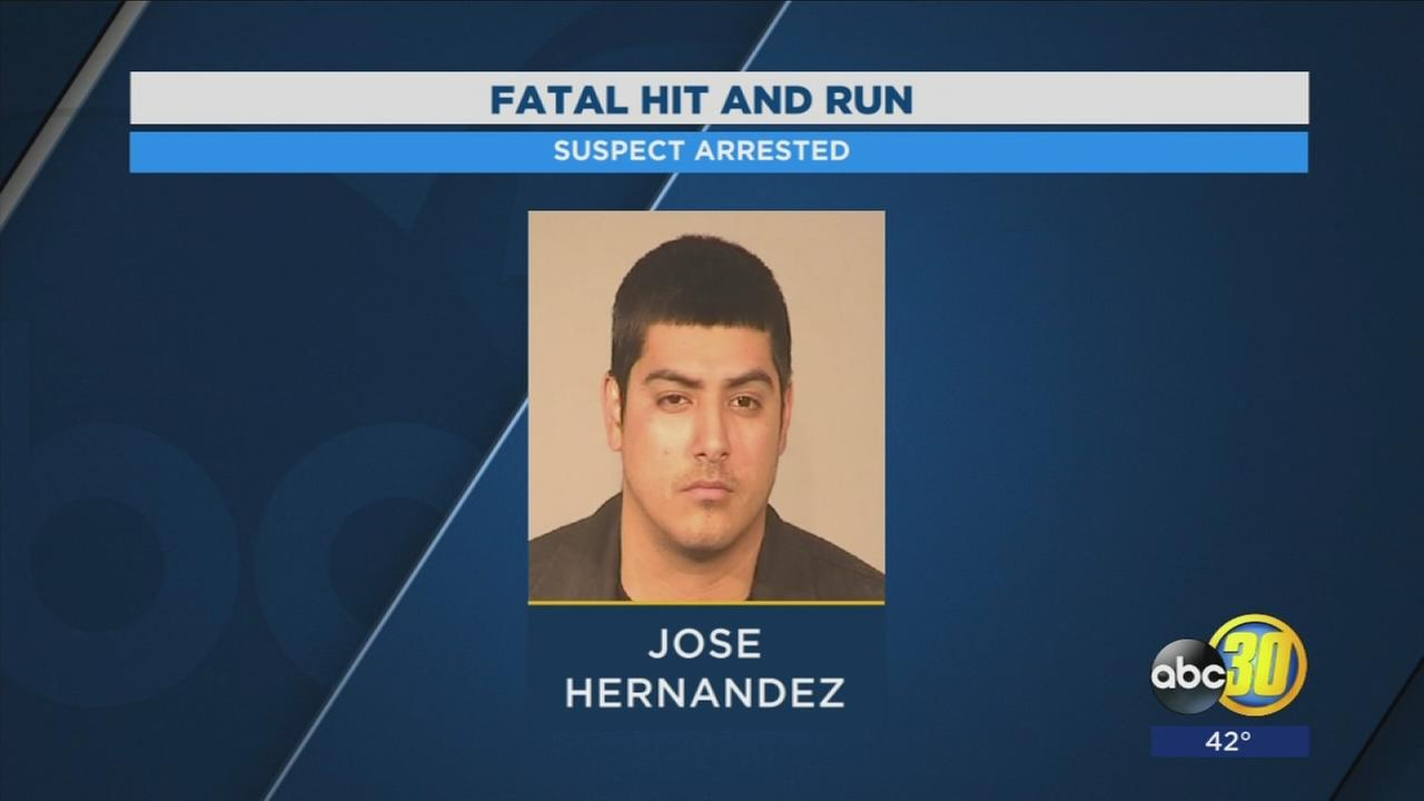 Man in custody after fleeing from fatal hit and run in Central Fresno, police say