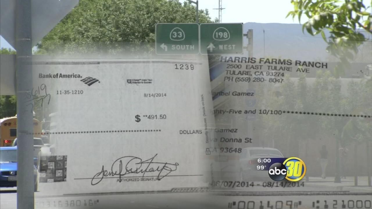 Multi-million dollar bogus check ring busted by Valley police in LA