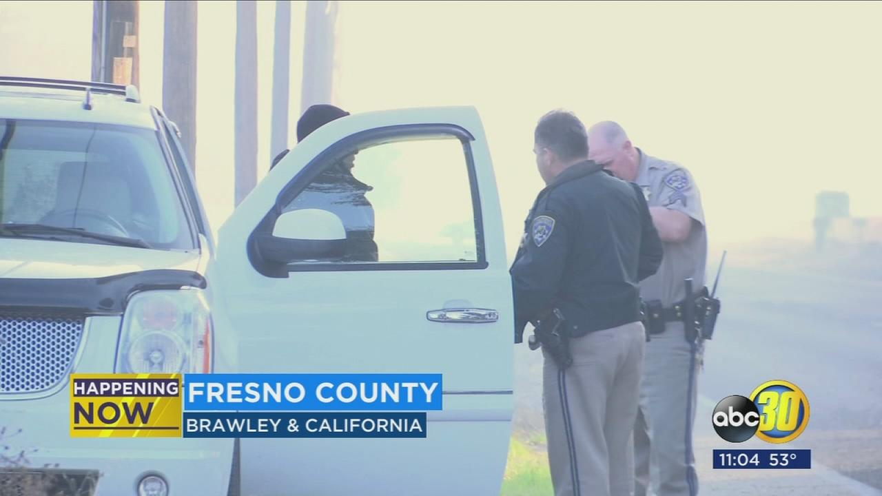Man found dead on the side of the road in Fresno County being investigated as suspicious death