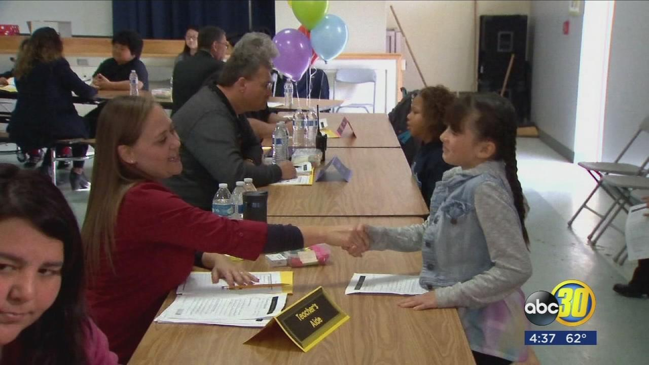 Fresno school launches Meaningful Work Program