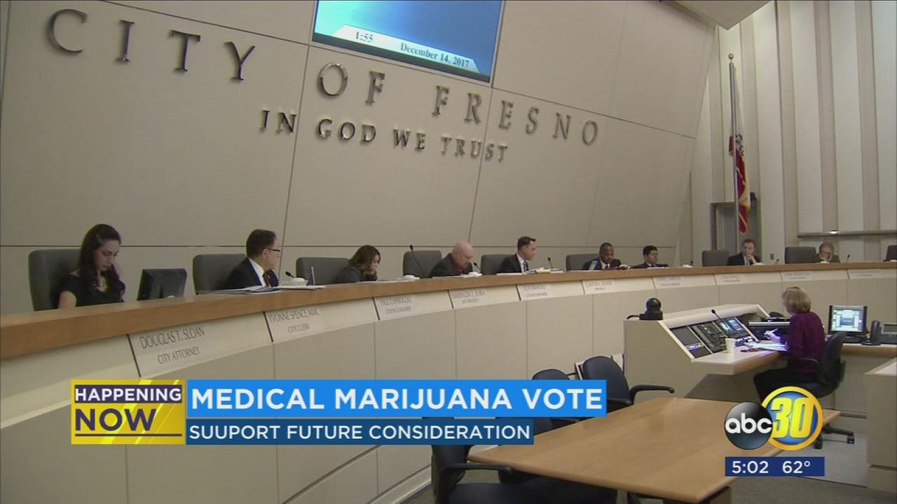 Fresno City Council approves pot ordinance for medicinal use
