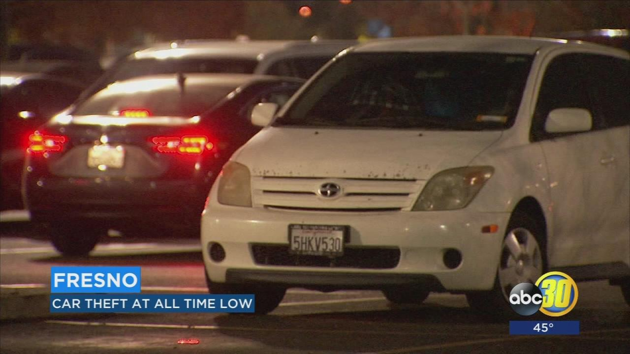 Auto car theft is down, 463 fewer cars were stolen this year