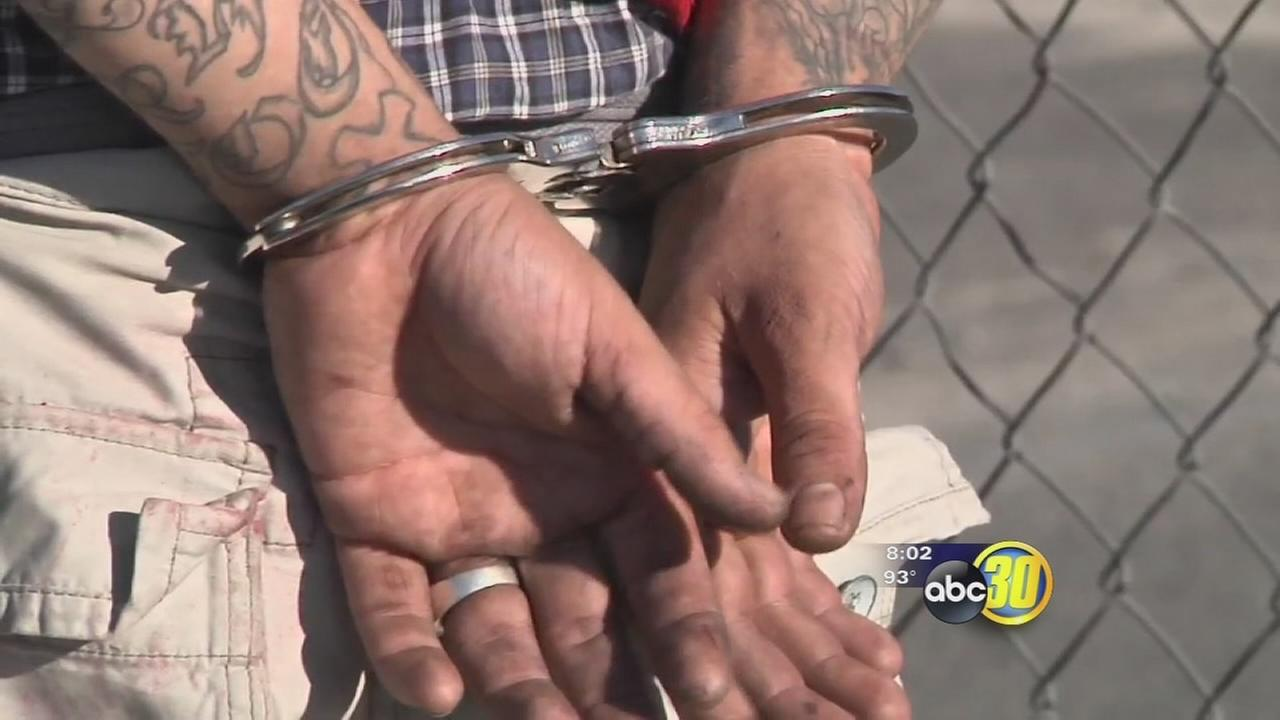 Authorities crack down on gang activity in Fresno