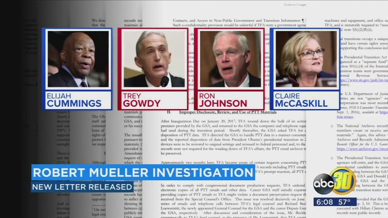 Robert Mueller investigation continues
