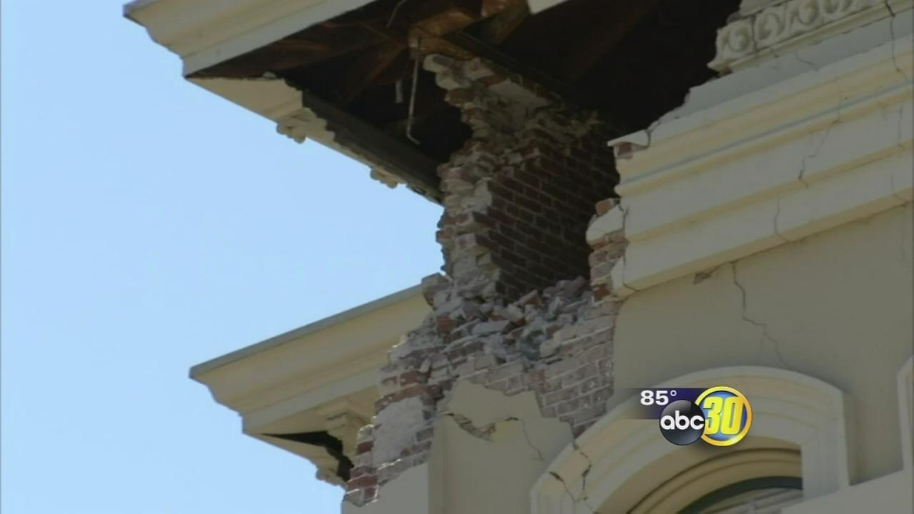 South Napa Earthquake causes damage, injuries