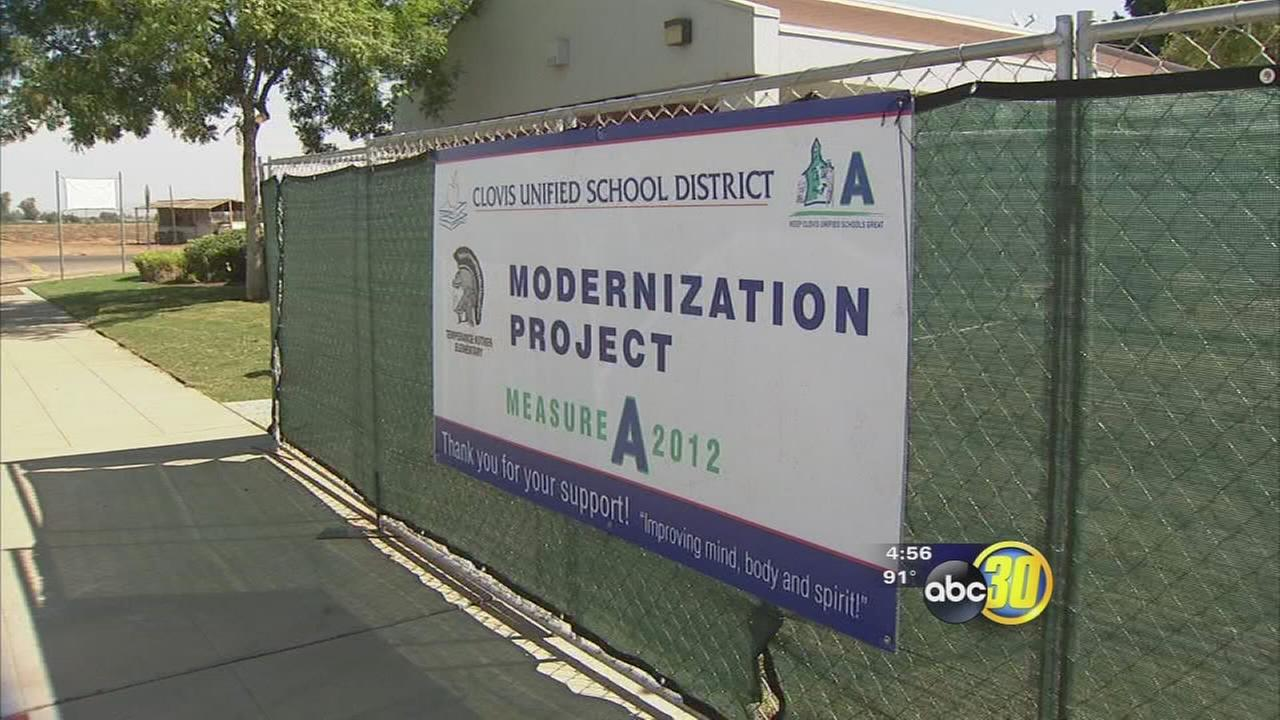Clovis students go back to school, see improved facilities