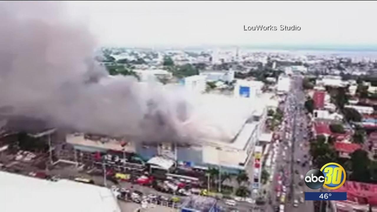 At least 37 dead after mall fire in Philippines