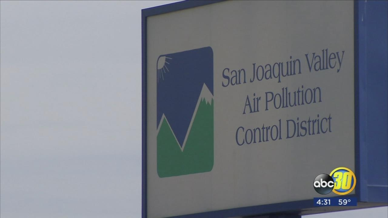 Stagnant air flow and high ozone levels lowered air quality to level red