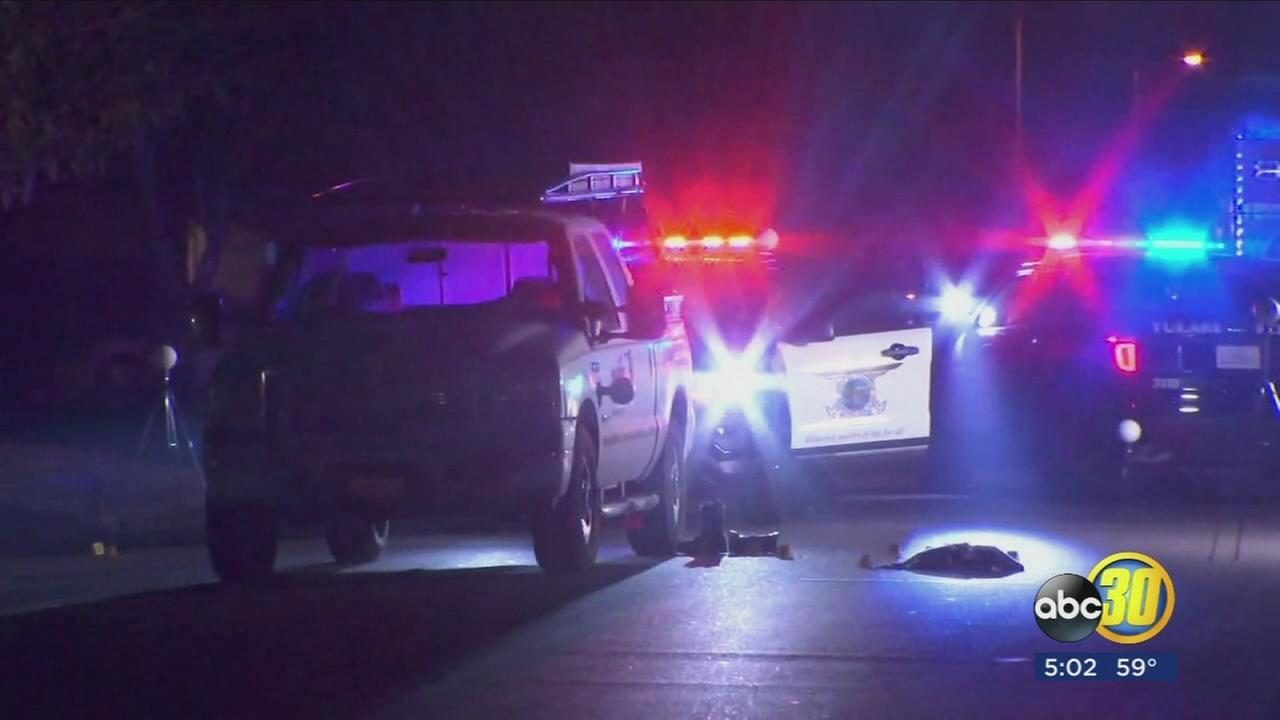 Authorities investigating a deadly officer involved shooting in Tulare