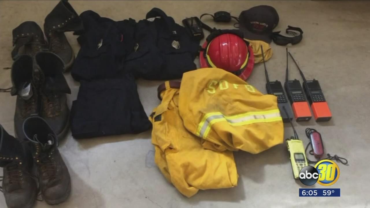 Thousands of dollars of equipment stolen from firefighters car