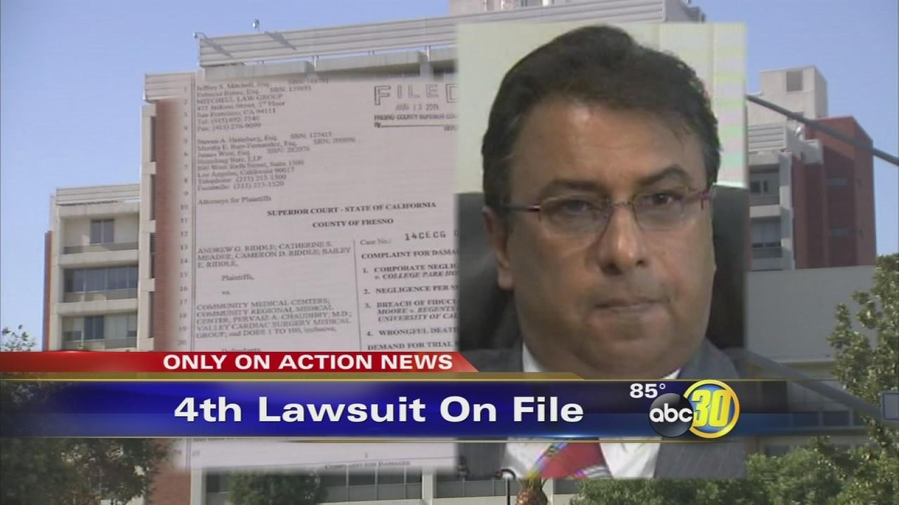 Fresno heart surgeon facing fourth lawsuit