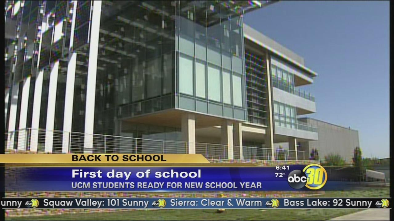 U.C. Merced kicks off their 10th year with record enrollment