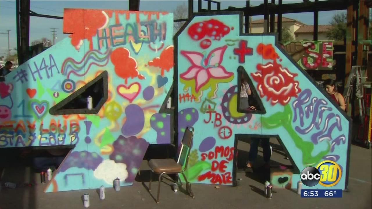 South Valley children come together to share message through art