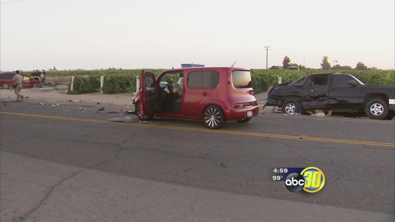 Survivor speaks out after crash near Caruthers kills 3