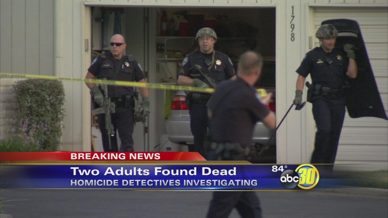 2 people found dead in Clovis apartment
