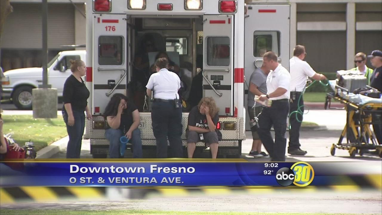 Hazmat call prompts Fresno PG&E call center evacuation