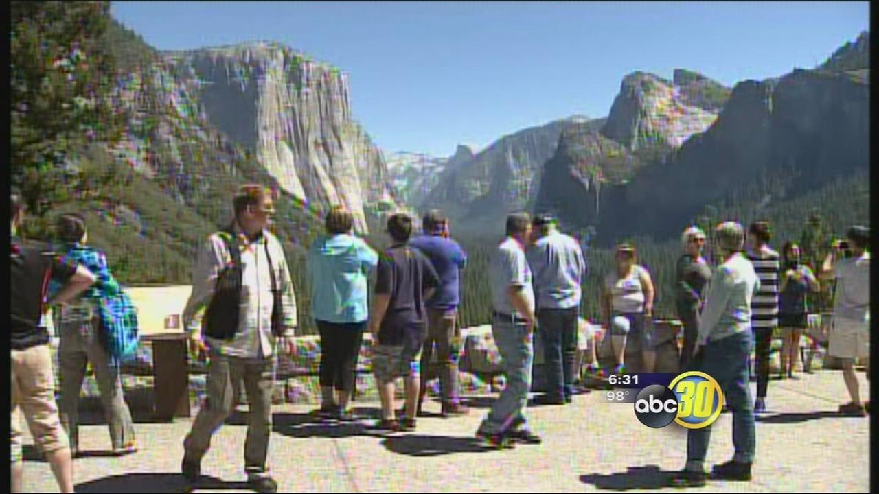Yosemite gets boost in tourism this Labor Day weekend