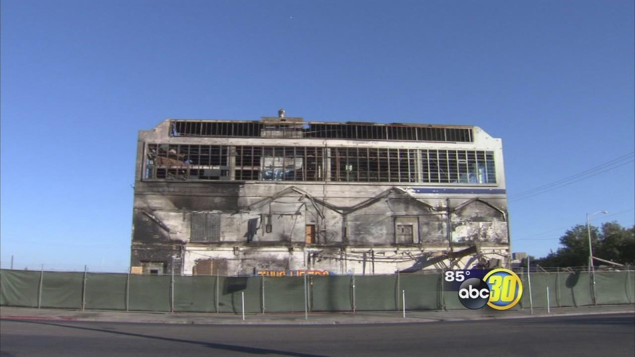 Abandoned Fresno building to be demolished for high-speed rail