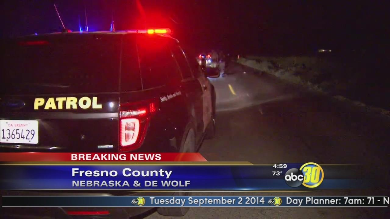 2 motorcycles crash, 1 rider killed, in Fresno County