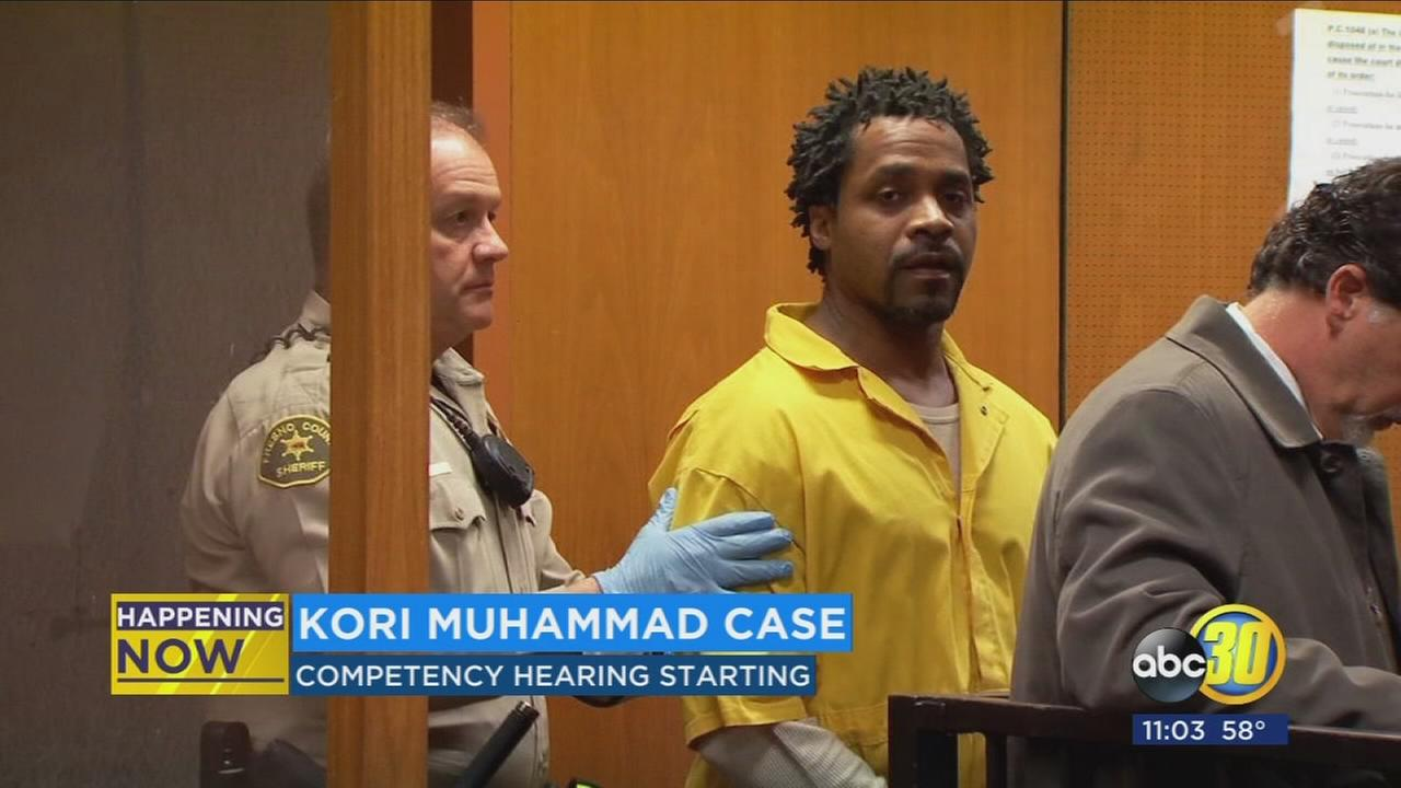 Kori Muhammad waves jury trial in mental competency hearing
